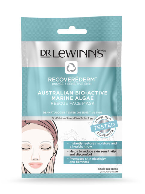 Recoverederm Australian Marine Algae Rescue Mask 1pc