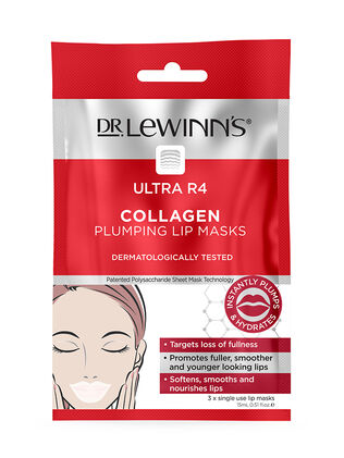 Ultra R4 Collagen Plumping Lip Mask 3 pack