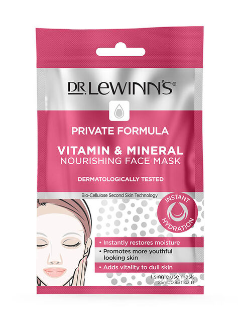 Private Formula Vitamin & Mineral Nourishing Face Mask 1 pack