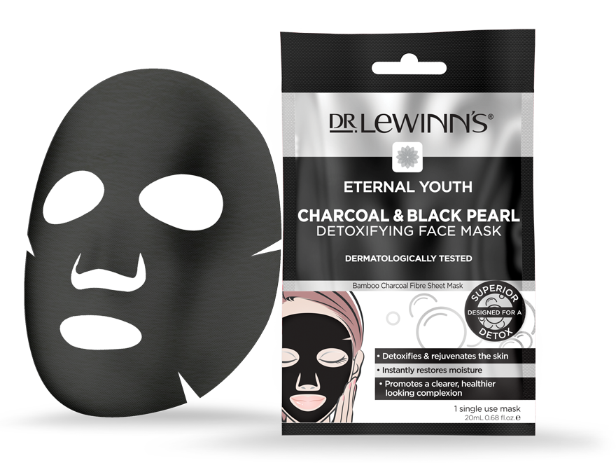 Eternal Youth Charcoal & Black Pearl Detoxifying Face Mask